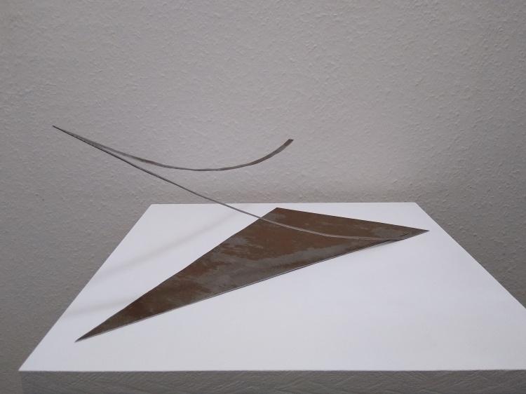 Werner Rückemann, Skulptur, Metall, 2020, Galerie Münsterland, Emsdetten