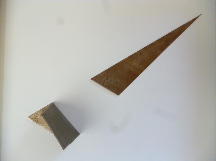 Werner Rückemann, Relief, Metall, 2018, Museum Liesborn