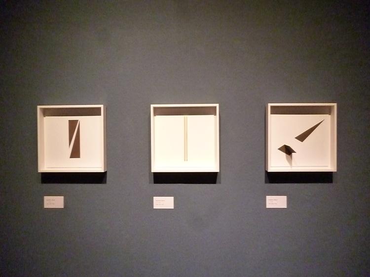 Werner Rückemann, Reliefs, 2018, Museum Liesborn
