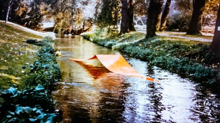 Werner Rückemann, Wasserplastik, 1986, Jülich