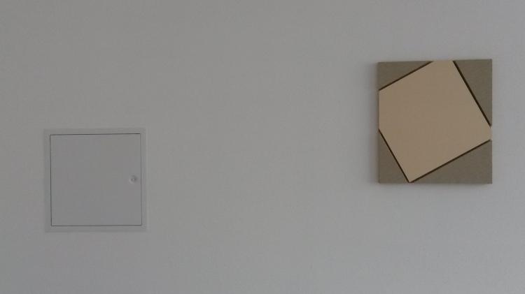 Werner Rückemann, Relief, Holz, 2015, Atelier