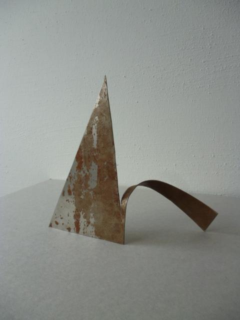 Werner Rückemann, Modell, Metall, 2013, Atelier