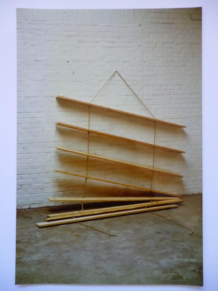 Werner Rückemann, Skulptur, Holz, 1988, Museum Liesborn