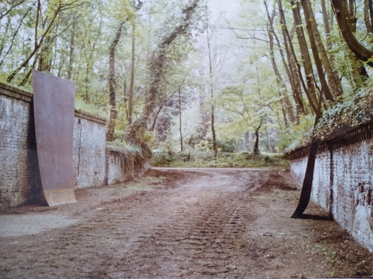 Werner Rückemann, o.T. (untitled), Metall, Köln, Skulptur am Fort, 1985