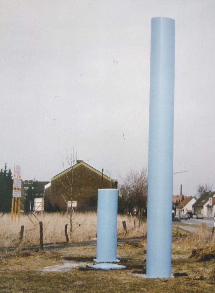 Skulptour 1, Steinfurt, 1987